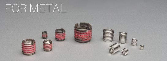 E-Z LOK - Threaded Inserts for Metal, Wood and Plastic