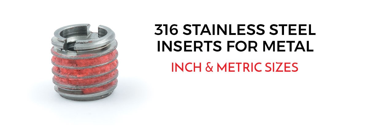 Threaded Inserts | Buy E-Z LOK Thread Inserts for Metal